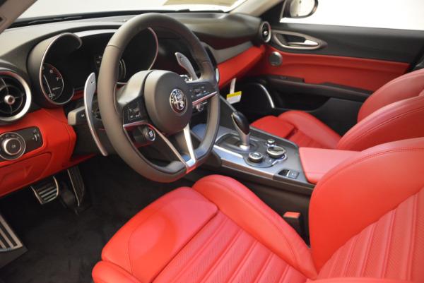New 2018 Alfa Romeo Giulia Ti Sport Q4 for sale Sold at Alfa Romeo of Greenwich in Greenwich CT 06830 13