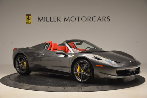 Used 2014 Ferrari 458 Spider for sale Sold at Alfa Romeo of Greenwich in Greenwich CT 06830 10
