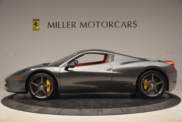 Used 2014 Ferrari 458 Spider for sale Sold at Alfa Romeo of Greenwich in Greenwich CT 06830 15