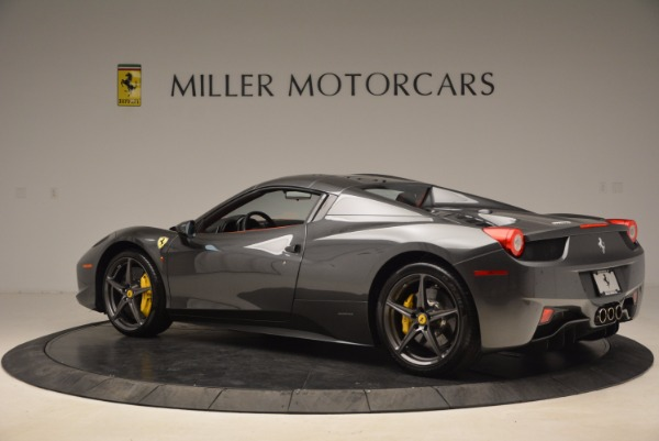 Used 2014 Ferrari 458 Spider for sale Sold at Alfa Romeo of Greenwich in Greenwich CT 06830 16