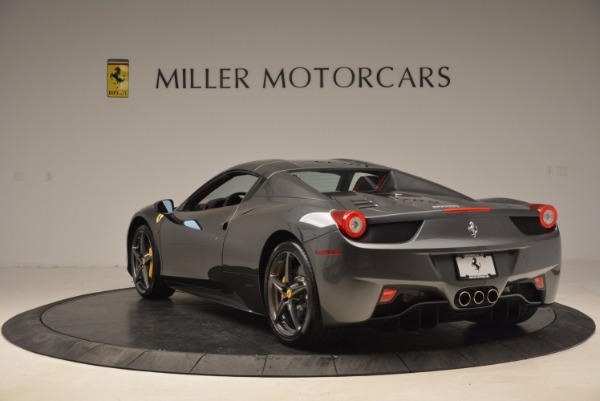 Used 2014 Ferrari 458 Spider for sale Sold at Alfa Romeo of Greenwich in Greenwich CT 06830 17