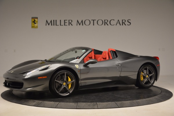Used 2014 Ferrari 458 Spider for sale Sold at Alfa Romeo of Greenwich in Greenwich CT 06830 2