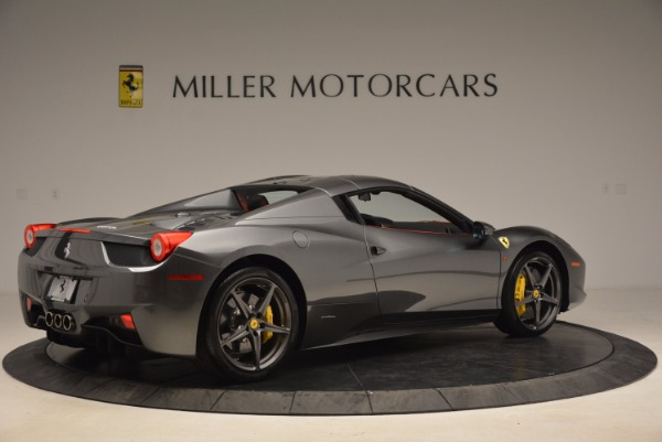 Used 2014 Ferrari 458 Spider for sale Sold at Alfa Romeo of Greenwich in Greenwich CT 06830 20