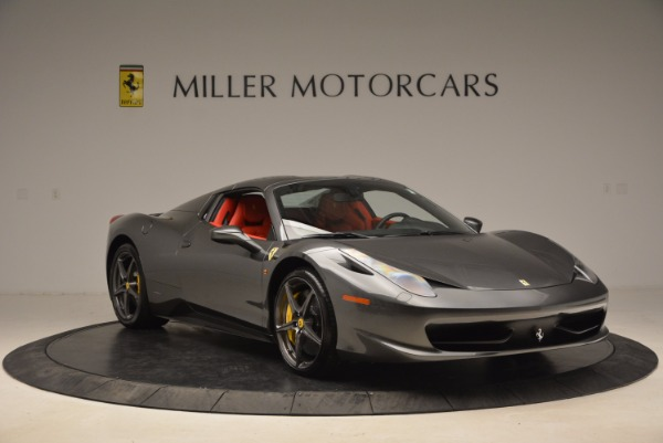 Used 2014 Ferrari 458 Spider for sale Sold at Alfa Romeo of Greenwich in Greenwich CT 06830 23