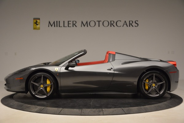Used 2014 Ferrari 458 Spider for sale Sold at Alfa Romeo of Greenwich in Greenwich CT 06830 3