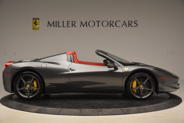 Used 2014 Ferrari 458 Spider for sale Sold at Alfa Romeo of Greenwich in Greenwich CT 06830 9