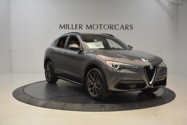 New 2018 Alfa Romeo Stelvio Ti Sport Q4 for sale Sold at Alfa Romeo of Greenwich in Greenwich CT 06830 11