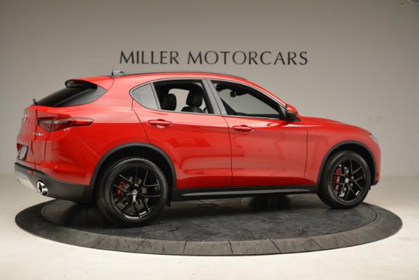 New 2018 Alfa Romeo Stelvio Ti Sport Q4 for sale Sold at Alfa Romeo of Greenwich in Greenwich CT 06830 8