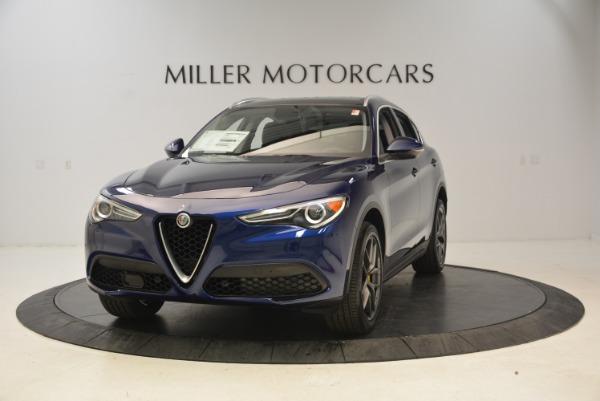 New 2018 Alfa Romeo Stelvio Sport Q4 for sale Sold at Alfa Romeo of Greenwich in Greenwich CT 06830 1