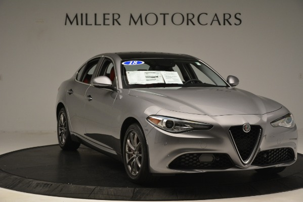 Used 2018 Alfa Romeo Giulia Q4 for sale Sold at Alfa Romeo of Greenwich in Greenwich CT 06830 11