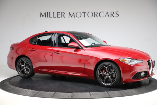 Used 2018 Alfa Romeo Giulia Ti Sport Q4 for sale $34,900 at Alfa Romeo of Greenwich in Greenwich CT 06830 10