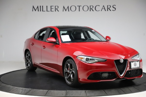 Used 2018 Alfa Romeo Giulia Ti Sport Q4 for sale $34,900 at Alfa Romeo of Greenwich in Greenwich CT 06830 11