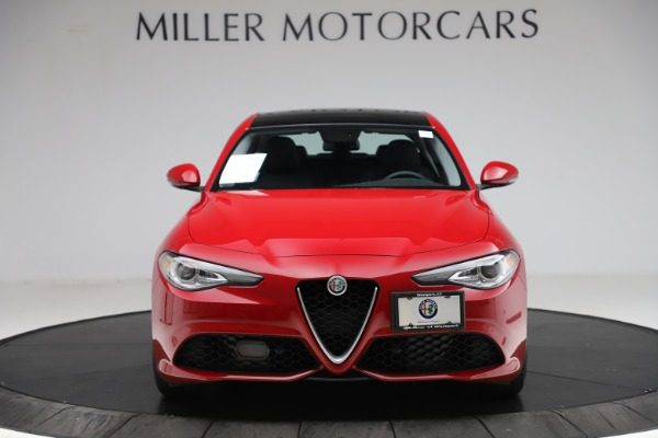 Used 2018 Alfa Romeo Giulia Ti Sport Q4 for sale $34,900 at Alfa Romeo of Greenwich in Greenwich CT 06830 12