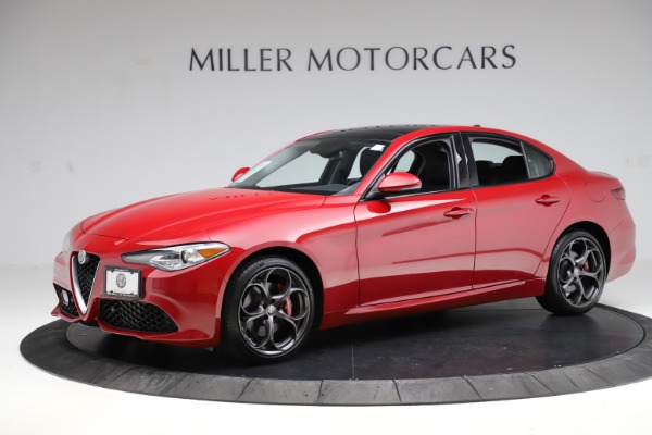 Used 2018 Alfa Romeo Giulia Ti Sport Q4 for sale $34,900 at Alfa Romeo of Greenwich in Greenwich CT 06830 2