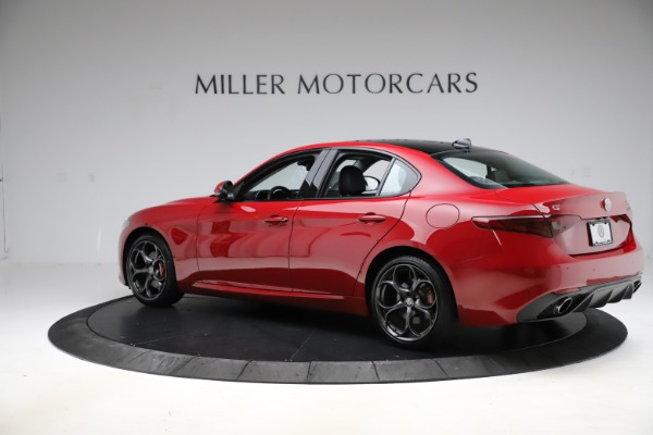 Used 2018 Alfa Romeo Giulia Ti Sport Q4 for sale $34,900 at Alfa Romeo of Greenwich in Greenwich CT 06830 4