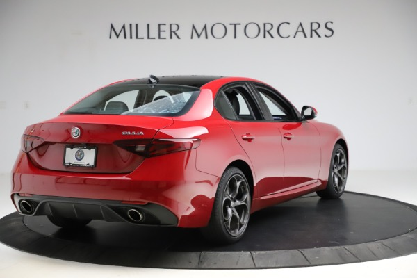 Used 2018 Alfa Romeo Giulia Ti Sport Q4 for sale $34,900 at Alfa Romeo of Greenwich in Greenwich CT 06830 7