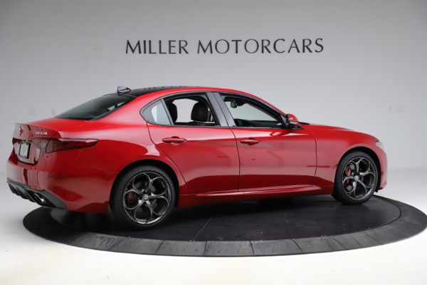 Used 2018 Alfa Romeo Giulia Ti Sport Q4 for sale $34,900 at Alfa Romeo of Greenwich in Greenwich CT 06830 8