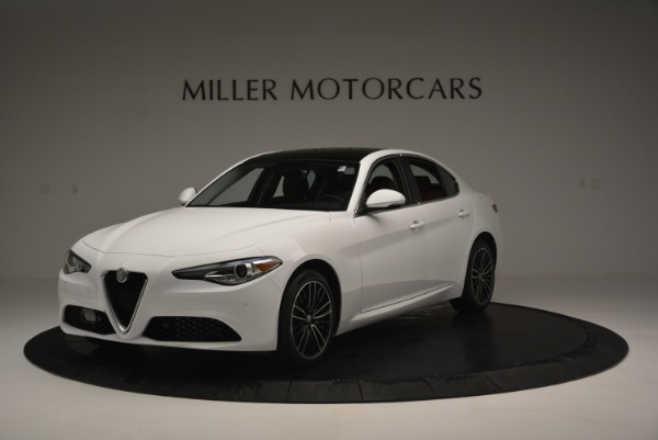 New 2018 Alfa Romeo Giulia Ti Lusso Q4 for sale Sold at Alfa Romeo of Greenwich in Greenwich CT 06830 2
