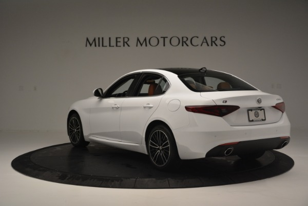 New 2018 Alfa Romeo Giulia Ti Lusso Q4 for sale Sold at Alfa Romeo of Greenwich in Greenwich CT 06830 5