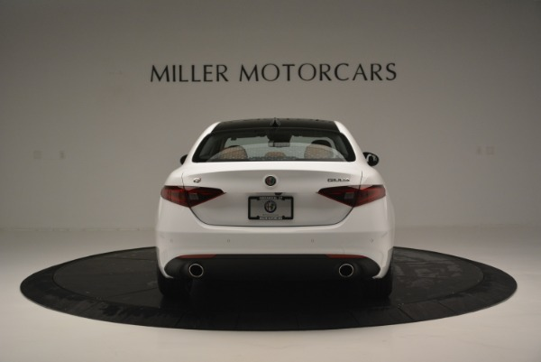New 2018 Alfa Romeo Giulia Ti Lusso Q4 for sale Sold at Alfa Romeo of Greenwich in Greenwich CT 06830 6