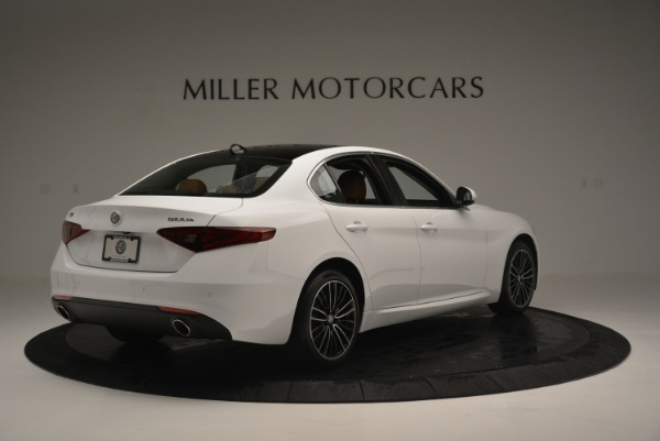 New 2018 Alfa Romeo Giulia Ti Lusso Q4 for sale Sold at Alfa Romeo of Greenwich in Greenwich CT 06830 7