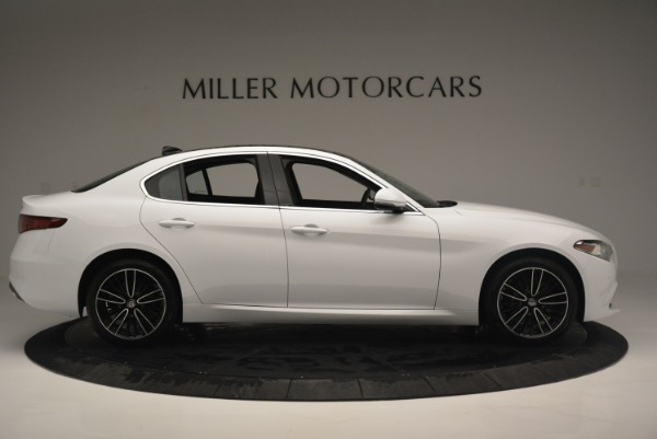 New 2018 Alfa Romeo Giulia Ti Lusso Q4 for sale Sold at Alfa Romeo of Greenwich in Greenwich CT 06830 9
