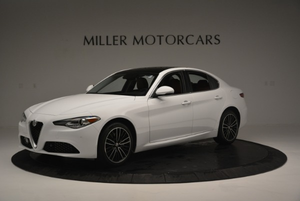 New 2018 Alfa Romeo Giulia Ti Lusso Q4 for sale Sold at Alfa Romeo of Greenwich in Greenwich CT 06830 1
