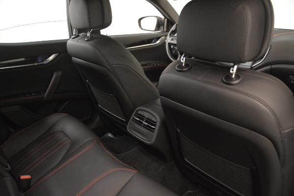 Used 2018 Maserati Ghibli S Q4 for sale Sold at Alfa Romeo of Greenwich in Greenwich CT 06830 22