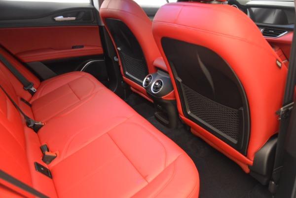New 2018 Alfa Romeo Stelvio Ti Q4 for sale Sold at Alfa Romeo of Greenwich in Greenwich CT 06830 22