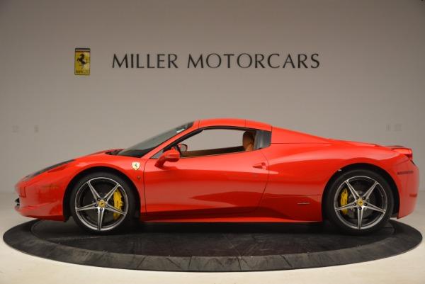 Used 2013 Ferrari 458 Spider for sale Sold at Alfa Romeo of Greenwich in Greenwich CT 06830 15
