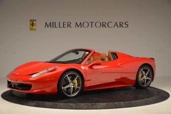 Used 2013 Ferrari 458 Spider for sale Sold at Alfa Romeo of Greenwich in Greenwich CT 06830 2