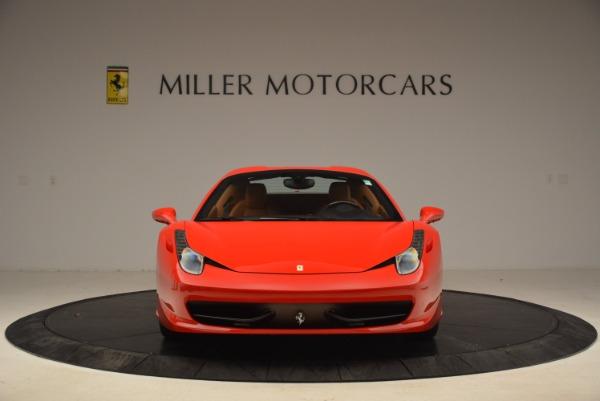 Used 2013 Ferrari 458 Spider for sale Sold at Alfa Romeo of Greenwich in Greenwich CT 06830 24