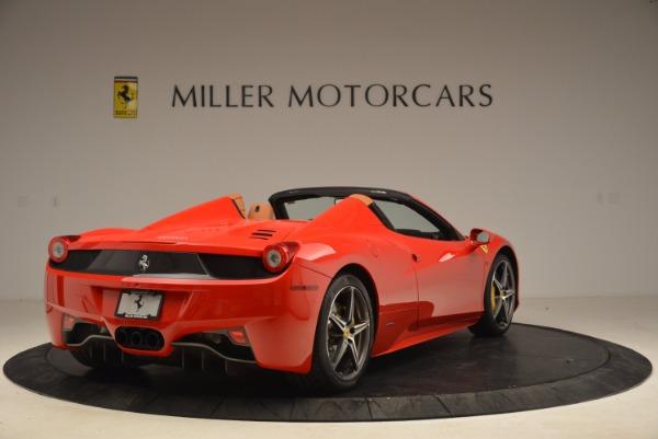 Used 2013 Ferrari 458 Spider for sale Sold at Alfa Romeo of Greenwich in Greenwich CT 06830 7