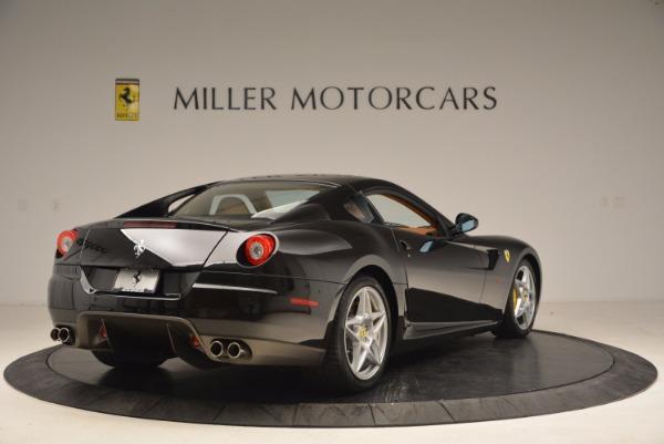 Used 2008 Ferrari 599 GTB Fiorano for sale Sold at Alfa Romeo of Greenwich in Greenwich CT 06830 7