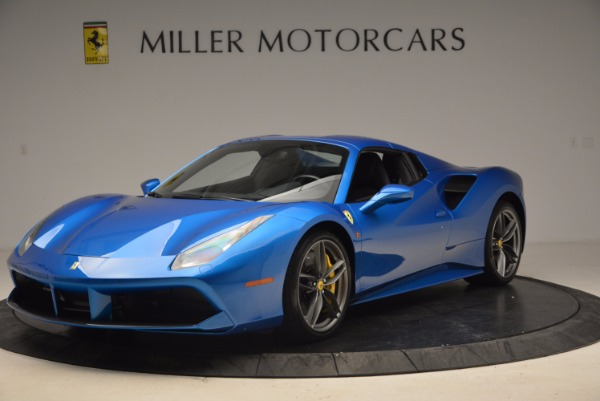 Used 2017 Ferrari 488 Spider for sale Sold at Alfa Romeo of Greenwich in Greenwich CT 06830 13