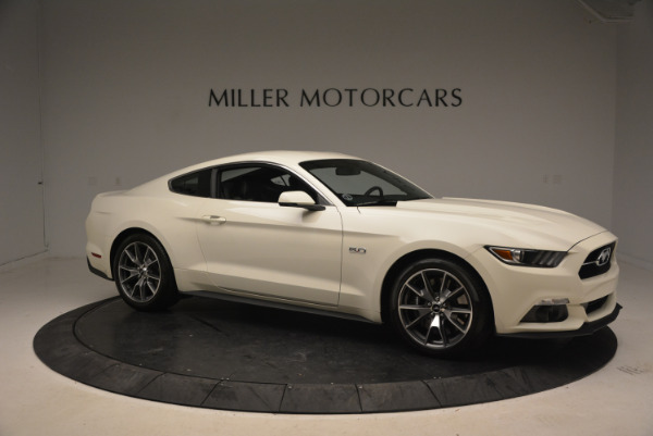 Used 2015 Ford Mustang GT 50 Years Limited Edition for sale Sold at Alfa Romeo of Greenwich in Greenwich CT 06830 10
