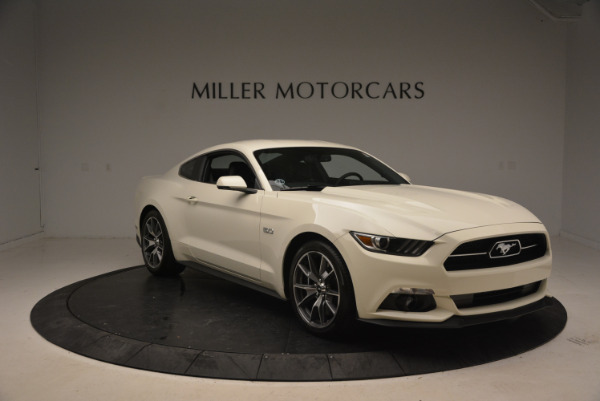 Used 2015 Ford Mustang GT 50 Years Limited Edition for sale Sold at Alfa Romeo of Greenwich in Greenwich CT 06830 11