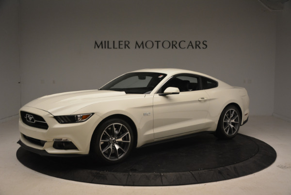 Used 2015 Ford Mustang GT 50 Years Limited Edition for sale Sold at Alfa Romeo of Greenwich in Greenwich CT 06830 2