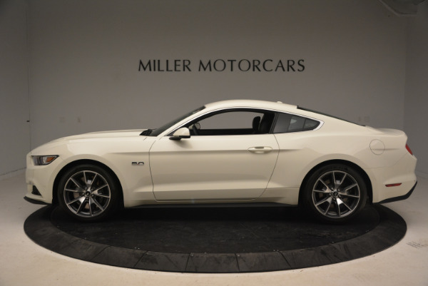 Used 2015 Ford Mustang GT 50 Years Limited Edition for sale Sold at Alfa Romeo of Greenwich in Greenwich CT 06830 3