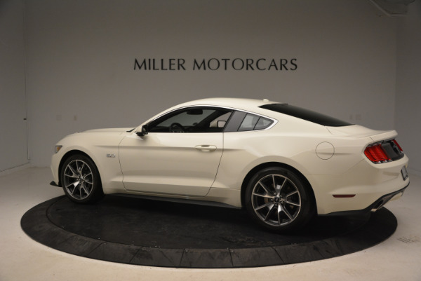 Used 2015 Ford Mustang GT 50 Years Limited Edition for sale Sold at Alfa Romeo of Greenwich in Greenwich CT 06830 4