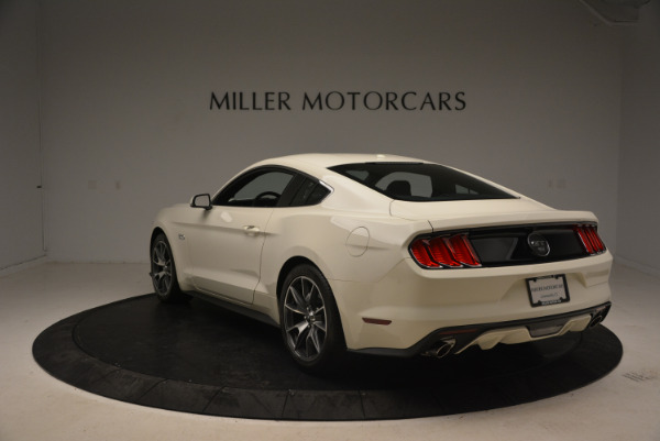 Used 2015 Ford Mustang GT 50 Years Limited Edition for sale Sold at Alfa Romeo of Greenwich in Greenwich CT 06830 5