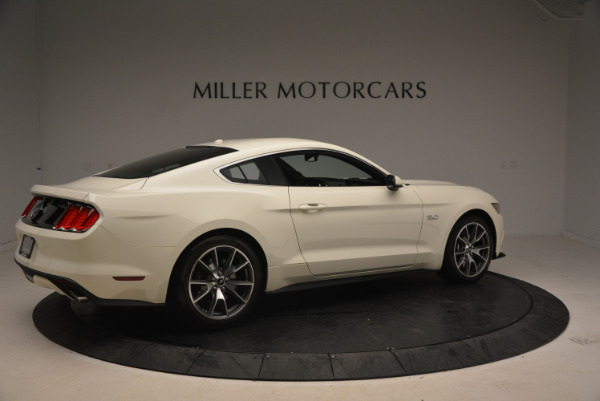 Used 2015 Ford Mustang GT 50 Years Limited Edition for sale Sold at Alfa Romeo of Greenwich in Greenwich CT 06830 8