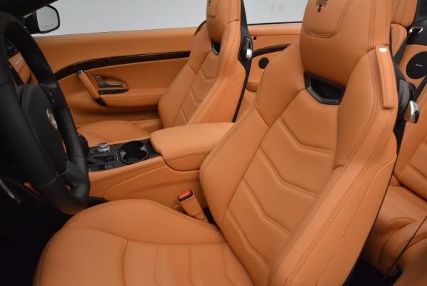 New 2018 Maserati GranTurismo Sport Convertible for sale Sold at Alfa Romeo of Greenwich in Greenwich CT 06830 26