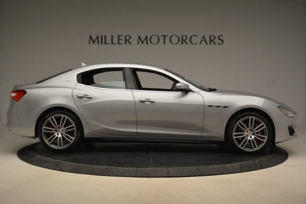 New 2018 Maserati Ghibli S Q4 for sale Sold at Alfa Romeo of Greenwich in Greenwich CT 06830 8