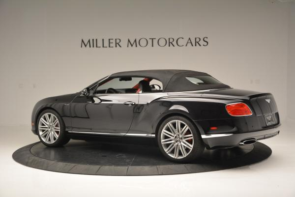 Used 2014 Bentley Continental GT Speed Convertible for sale Sold at Alfa Romeo of Greenwich in Greenwich CT 06830 17