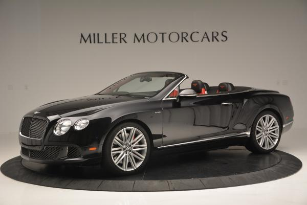 Used 2014 Bentley Continental GT Speed Convertible for sale Sold at Alfa Romeo of Greenwich in Greenwich CT 06830 2