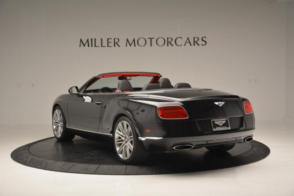 Used 2014 Bentley Continental GT Speed Convertible for sale Sold at Alfa Romeo of Greenwich in Greenwich CT 06830 5