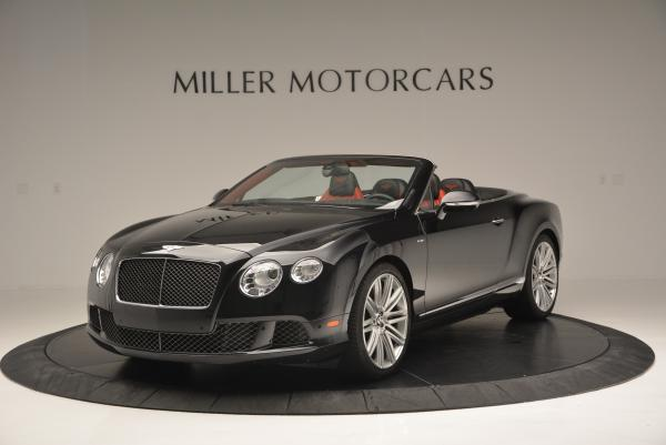 Used 2014 Bentley Continental GT Speed Convertible for sale Sold at Alfa Romeo of Greenwich in Greenwich CT 06830 1
