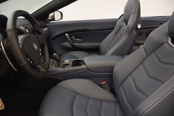 New 2018 Maserati GranTurismo Sport Convertible for sale Sold at Alfa Romeo of Greenwich in Greenwich CT 06830 27