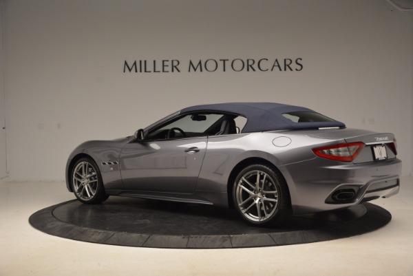 New 2018 Maserati GranTurismo Sport Convertible for sale Sold at Alfa Romeo of Greenwich in Greenwich CT 06830 7